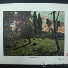 Arte: COLECCIÓN BLANCO Y NEGRO. 'EN LA MONCLOA'. DIBUJO DE A. LHARDY. 20,5 X 28,5 CM.. Lote 23421555