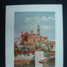 Arte: COLECCIÓN BLANCO Y NEGRO. 'AZOTEAS SEVILLANAS'. DIBUJO DE GARCIA RODRIGUEZ. 20,5 X 28,5 CM.. Lote 23421895