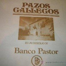 Arte: X-AºFACSÍMIL 10 LÁMINAS-PAZOS GALLEGOS-BANCO PASTOR-1975-SEIX BARRAL-VER FOS... Lote 27107393