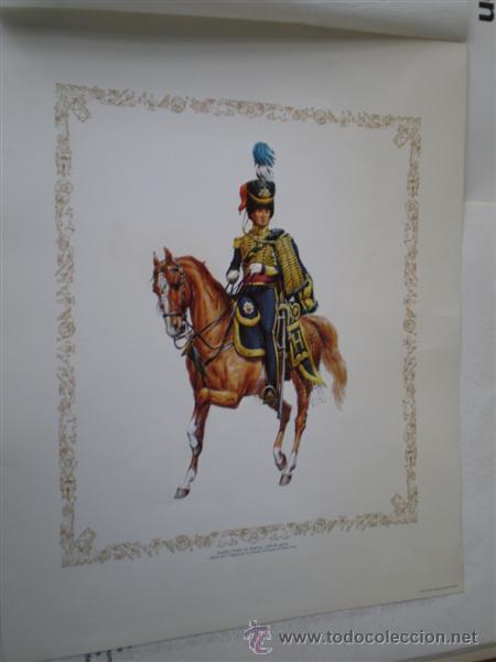 3 - LAMINAS DE CABALLERÍA (Arte - Láminas Antiguas)