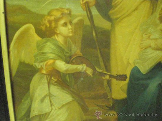 Arte: cuadro religioso sagrada familia - Foto 6 - 26994117