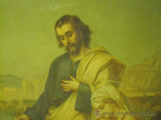 Arte: cuadro religioso sagrada familia - Foto 4 - 26994117