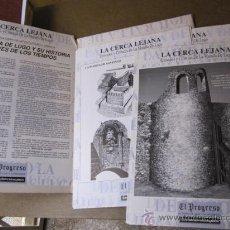 Arte: LUGO - LA CERCA LEJANA - CARPETA CON 32 LAMINAS CON DIBUJOS Y TEXTOS EVOLUCION MURALLA + INFO. Lote 25390582