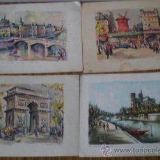 Arte: 4 - LAMINAS PARISINAS. Lote 25915394