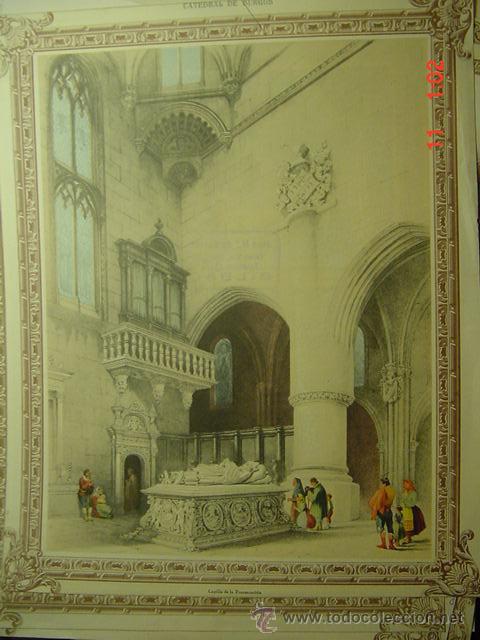 52 burgos catedral - preciosa lamina para enm - Comprar Láminas ...