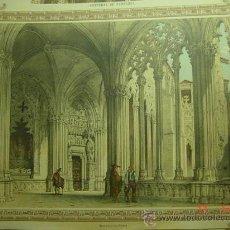Arte: 56 PAMPLONA CATEDRAL - PRECIOSA LAMINA PARA ENMARCAR - AÑOS 1940/50. Lote 26074375