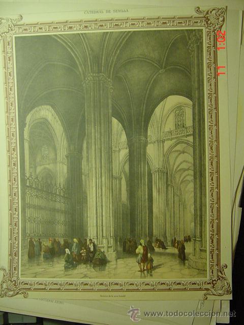 58 catedral de sevilla - preciosa lamina para - Comprar Láminas ...