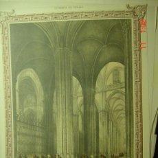 Arte: 58 CATEDRAL DE SEVILLA - PRECIOSA LAMINA PARA ENMARCAR - AÑOS 1940/50. Lote 26074427