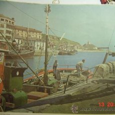 Arte: 110 ZUMAYA GUIPUZCOA - LAMINA DE CALENDARIO PARA ENMARCAR - AÑO 1957 - MAS EN MI TIENDA. Lote 42563468