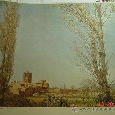 Arte: 111 ZAMORA PAISAJE RURAL - LAMINA DE CALENDARIO PARA ENMARCAR - AÑO 1957 - MAS EN MI TIENDA. Lote 26095426
