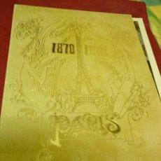 Arte: PARIS 1870-1920 COLECCIÓN DE ARTE ROGER. TOMO I. Lote 26770197