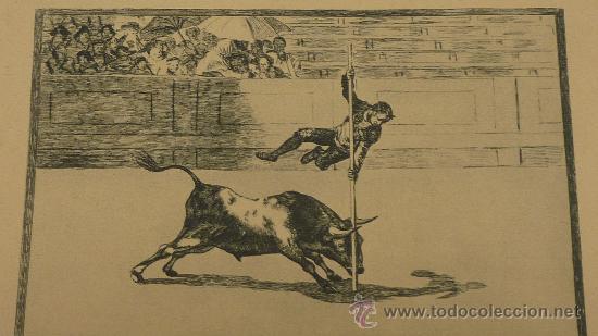 Arte: lote de 2 laminas de caprichos de Goya. - Foto 2 - 27067523