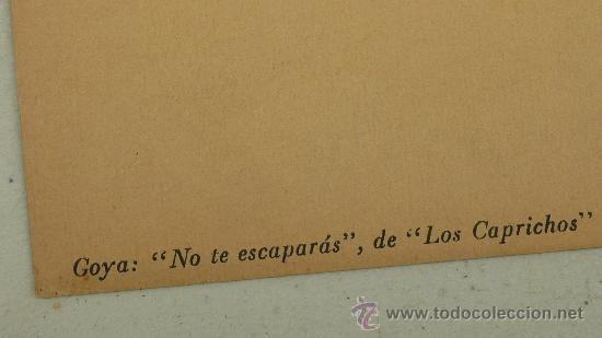 Arte: lote de 2 laminas de caprichos de Goya. - Foto 6 - 27067523