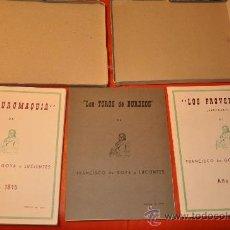 Arte: FRANCISCO DE GOYA EDICION LIMITADA LA TAUROMAQUIA LOS PROVERBIOS LOS TOROS. Lote 27338016
