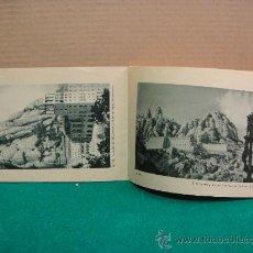 Arte: LIBRITO DE 96 LAMINAS DEL MONASTERIO DE MONTSERRAT Y SU ENTORNO. Lote 27992241