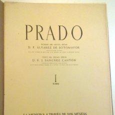 Arte: LA MEDICINA A TRAVES DE LOS MUSEOS, PRADO TOMO I. Lote 28452185