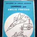 Arte: 1968 EMILIO FREIXAS 12 LECCIONES DE DIBUJO ARTÍSTICO, INICIACIÓN S. AZUL A8. Lote 93331423