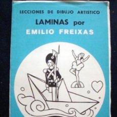Arte: 1968 EMILIO FREIXAS 12 LECCIONES DE DIBUJO ARTÍSTICO, INICIACIÓN S. AZUL A9. CUENTOS. Lote 93331860