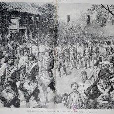 Arte: OCUPACIÓN DE NUEVA YORK POR LAS TROPAS AMERICANAS, 25 DE NOVIEMBRE DE 1783. Lote 28606209