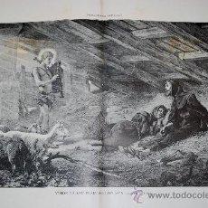 Arte: VISIÓN DE SAN FRANCISCO DE ASÍS. CUADRO DE T. CHARTRAM. Lote 28606231