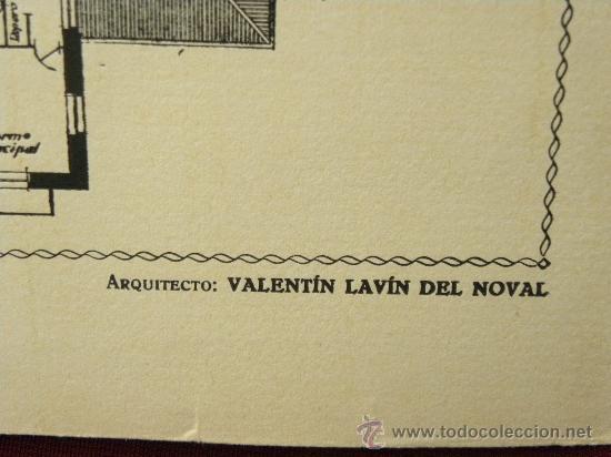 Arte: 5 Lamina Arquitectura antigua plano estilo Catalán,castellano montañés Andaluz Ed. Casellas Moncanut - Foto 17 - 29155648