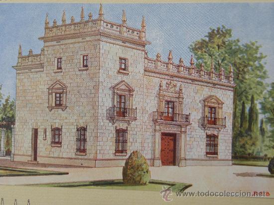 Arte: 5 Lamina Arquitectura antigua plano estilo Catalán,castellano montañés Andaluz Ed. Casellas Moncanut - Foto 19 - 29155648