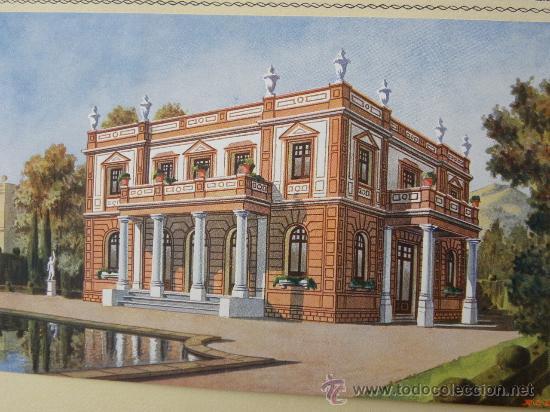 Arte: 5 Lamina Arquitectura antigua plano estilo Catalán,castellano montañés Andaluz Ed. Casellas Moncanut - Foto 23 - 29155648