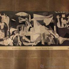 Arte: LAMINA DE GUERNICA, AÑO 1994, MUSEO REINA SOFIA. Lote 29365775