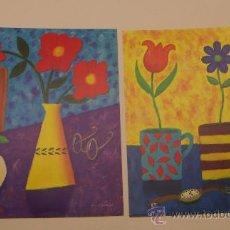 Arte: 3 LÁMINAS DE DECORATIVAS. Lote 29476121