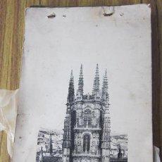 Arte: LIBRO CON 59 IMÁGENES DE LA CATEDRAL DE BURGOS. Lote 29663663