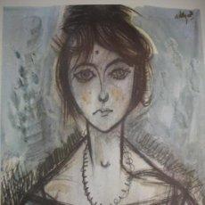 Arte: MUJER,DERMILUZ ALVARO DELGADO 1961. Lote 29914759