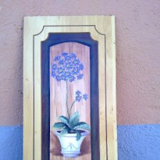 Arte: BONITA LAMINA EN MADERA. Lote 30644751
