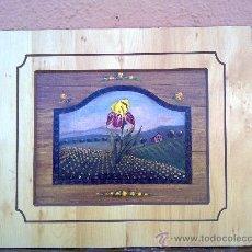 Arte: BONITA LAMINA EN MADERA. Lote 30644803