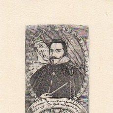 Arte: MANUEL DE FONSECA Y ZUÑIGA, CONDE DE MONTERREY, CABALLERO ORDEN DE SANTIAGO, EDITOR HAUSER Y MENET. Lote 30738645