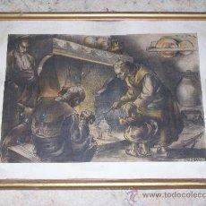 Arte: PACO RIBERA LAMINA DE CALENDARIO 1945. Lote 31004158