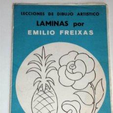 Arte: LAMINAS EMILIO FREIXAS .CUADERNO 12 LAMINAS .SERIE AZUL A2 .AÑO 1968. Lote 31176618