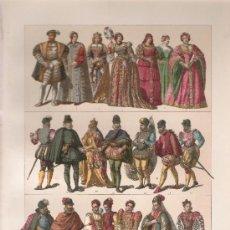 Arte: EDAD MEDIA - TRAJES DE LOS ESPAÑOLES Y PORTUGESES DEL SIGLO XVI. Lote 32118779