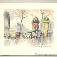 Arte: LAMINA ESTAMPADA .. PARIS - 1957. Lote 31999314