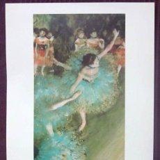 Arte: DEGAS - BAILARINA BASCULANDO - MUSEO THYSSEN - BORNEMISZA. Lote 32184317