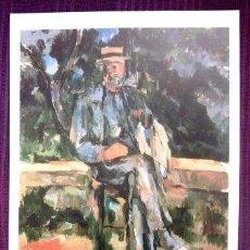Arte: PAUL CÉZANNE - RETRATO DE UN CAMPESINO - MUSEO THYSSEN - BORNEMISZA. Lote 32191706