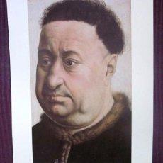 Arte: ROBERT CAMPIN - RETRATO DE UN HOMBRE ROBUSTO - MUSEO THYSSEN - BORNEMISZA. Lote 32202824