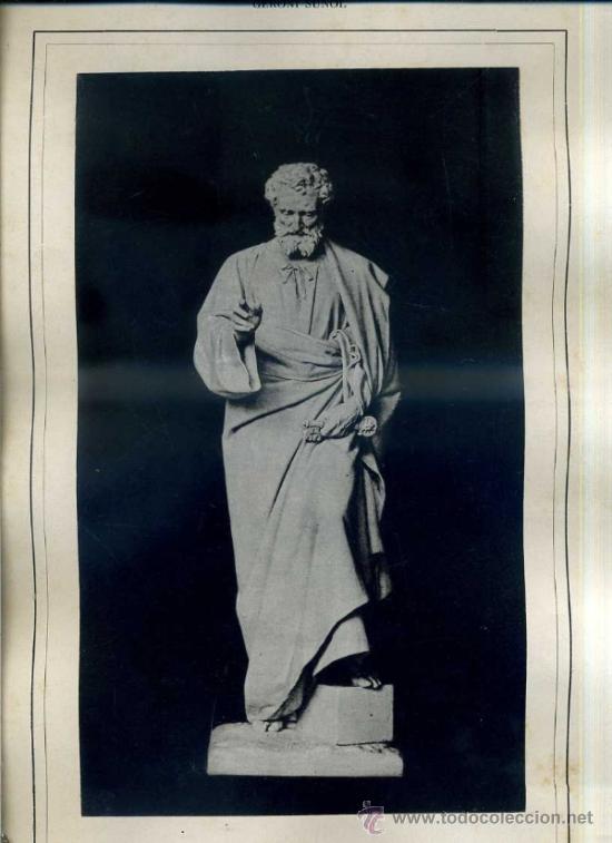 ALBUM ARTISTICH RENAIXENSA : GERONI SUÑOL - SANT PERE (1886) (Arte - Láminas Antiguas)