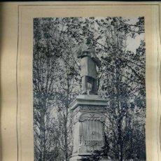 Arte: ALBUM ARTISTICH RENAIXENSA : VILASECA / FUXÀ : MONUMENT A ARIBAU (1885). Lote 32349316