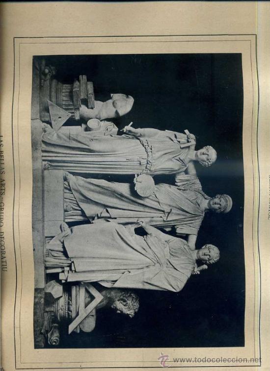 ALBUM ARTISTICH RENAIXENSA : GERONI SUNYOL : LAS BELLAS ARTS (1884) (Arte - Láminas Antiguas)