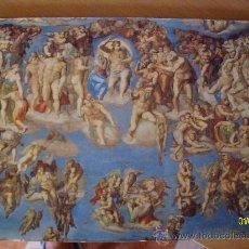 Arte: LITOGRAFIA EL JUICIO UNIVERSAL DE MIGUEL ANGEL. Lote 32447472