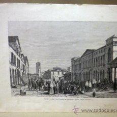 Arte: LAMINA, LAMINA ANTIGUA, ITALIA, VENECIA, 22 X 32 CM. Lote 34487994