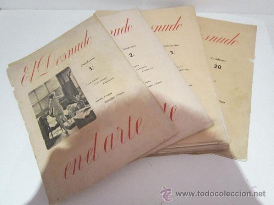 COLECCION COMPLETA DE 20 CUADERNOS (Arte - Láminas Antiguas)