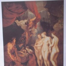 Arte: LÁMINA RUBENS LA EDUCACIÓN DE MARIA DE MEDICIS COLECCIÓN EL MUNDO DE LOS GRANDES GENIOS.. Lote 33902182