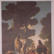 Arte: LÁMINA DE GOYA MAJA Y LOS EMBOZADOS COLECCIÓN LOS TESOROS DEL PABELLÓN DE ESPAÑA.. Lote 33936617