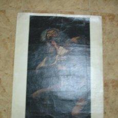 Arte: REPLICA SOBRE TELA OBRA DE GOYA 146 CM × 83 CM. Lote 34176377